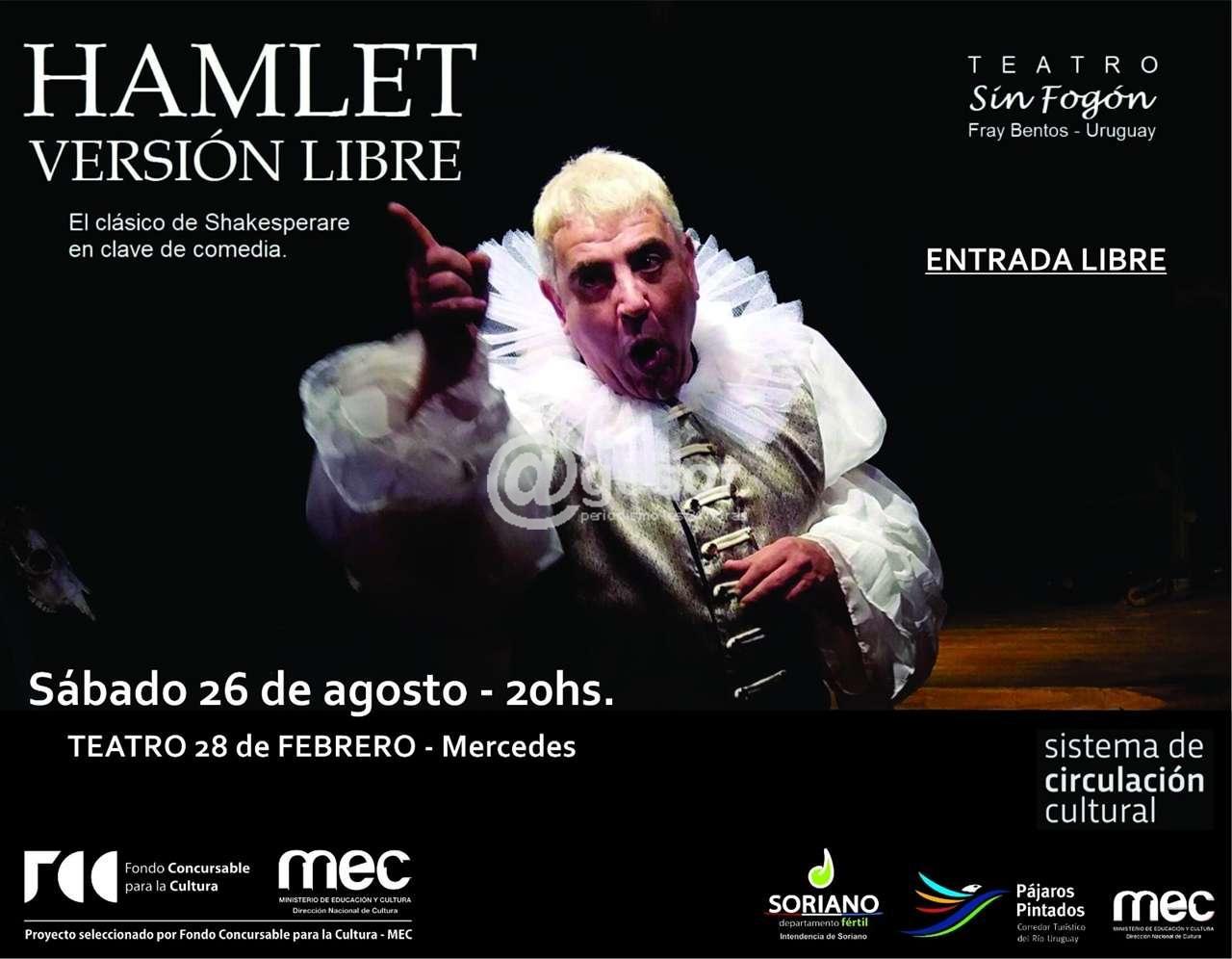 AGESOR - Este sábado 'La tragedia de Hamlet' en versión
