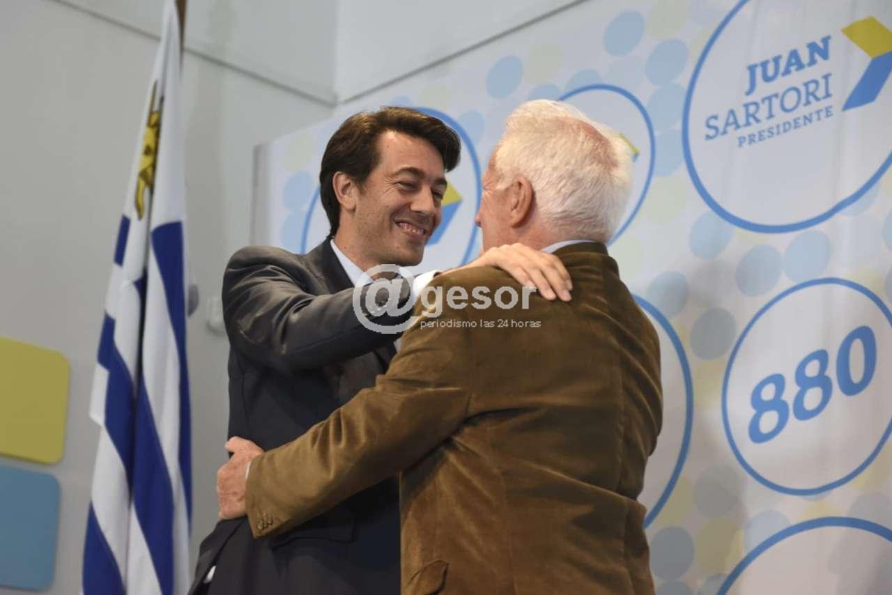 Sartori competirá en las internas con la lista 880 y asume la Presidencia de Todos por el Pueblo